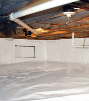 A complete crawl space repair system in Stratford