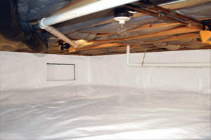 Crawl Space Repair After in London