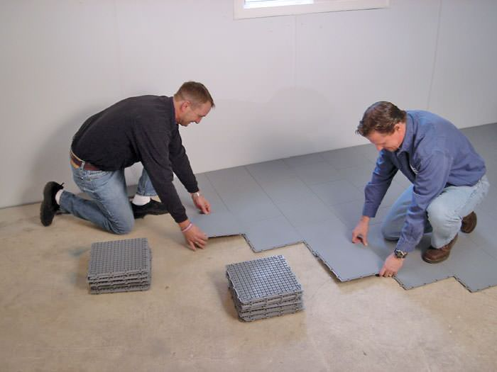 basement sub floor matting options in chatham london sarnia rh advancedbasementsystems net